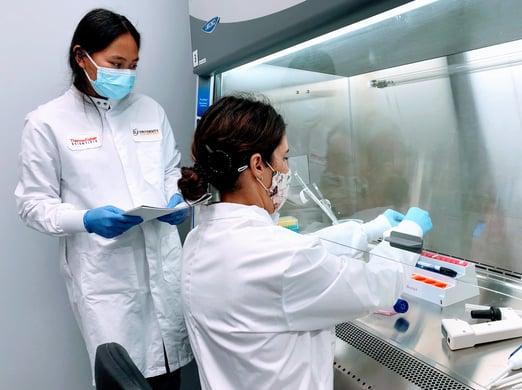 fume hood scientists