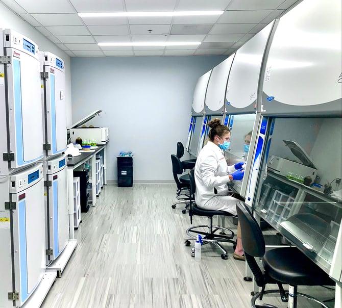 Tissue Culture Room in Laboratory