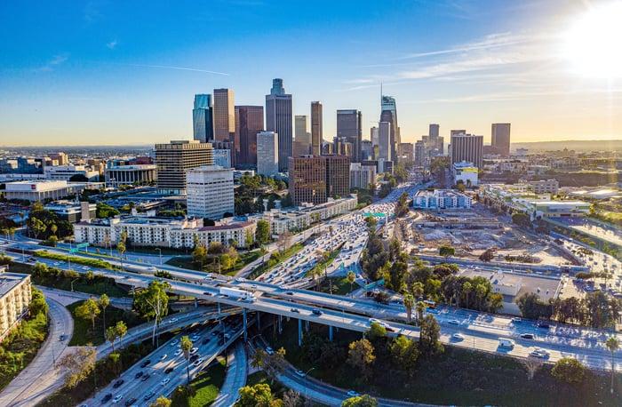 LA Los Angeles County AdobeStock_240447665