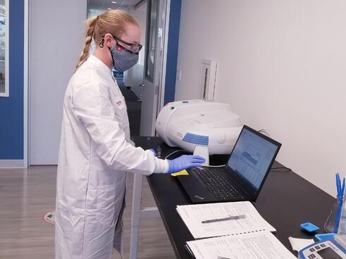 Breaking Through Biocontamination Student