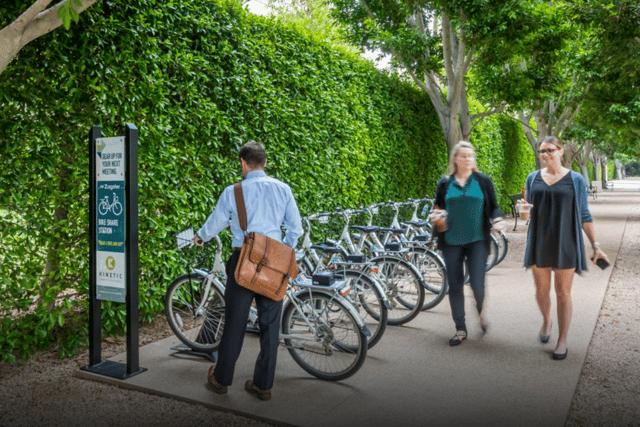 Bikeshare program at UCI