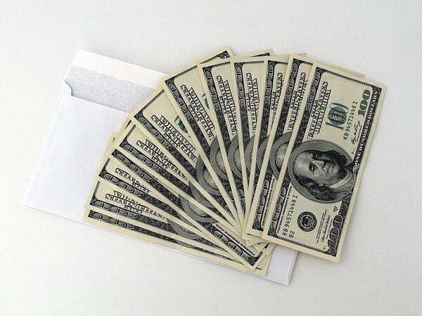 abundance of money bills letter