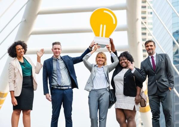 business people innovation