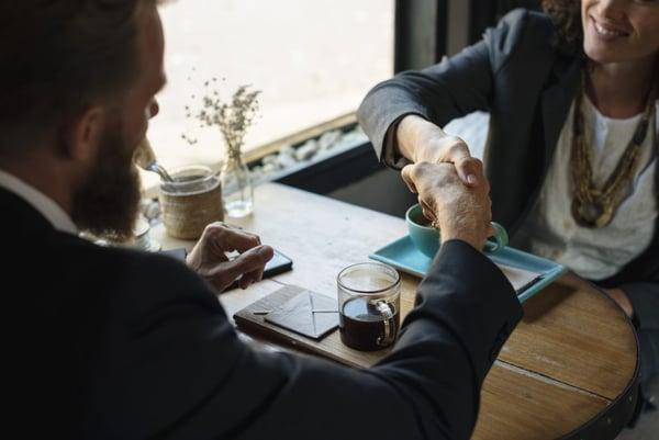 collaboration business men