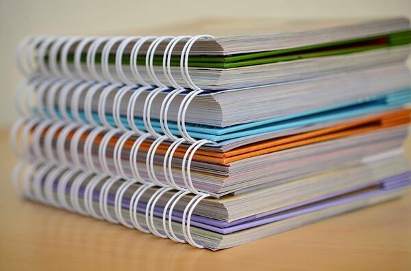 binding notebooks documents<br />