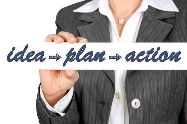 business idea plan and action