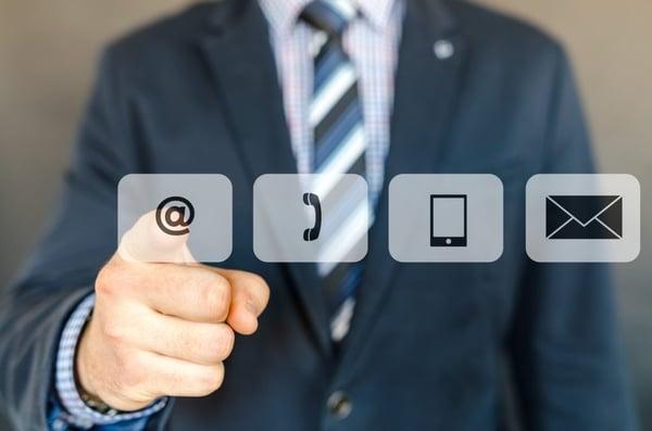 social media contact