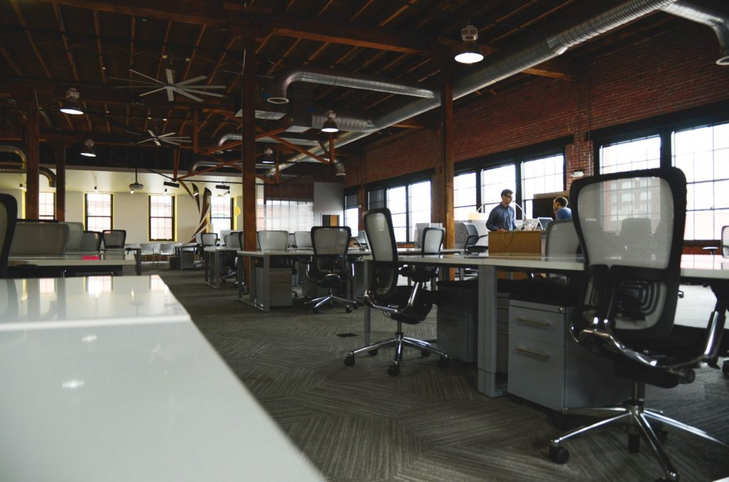 Coworking spaces offer low cost working spaces