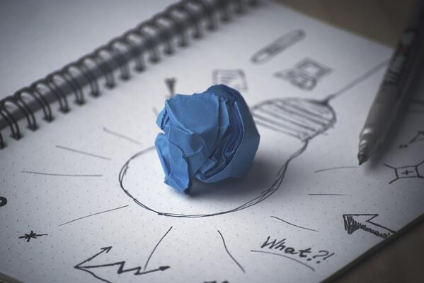 invention lightbulb garbage