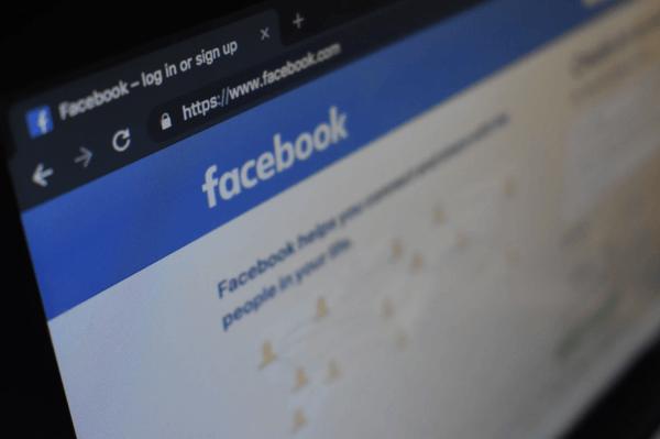 facebook homepage social media