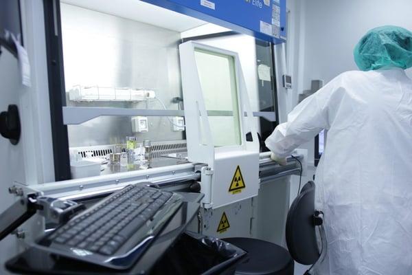 scientist in lab