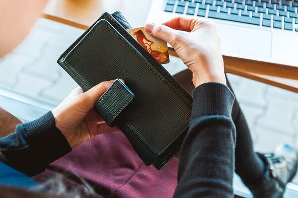 wallet credit card payment bill