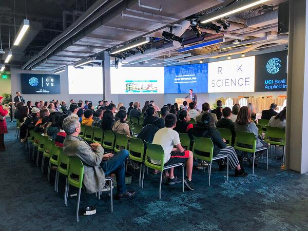 Rock the Science Event Audience