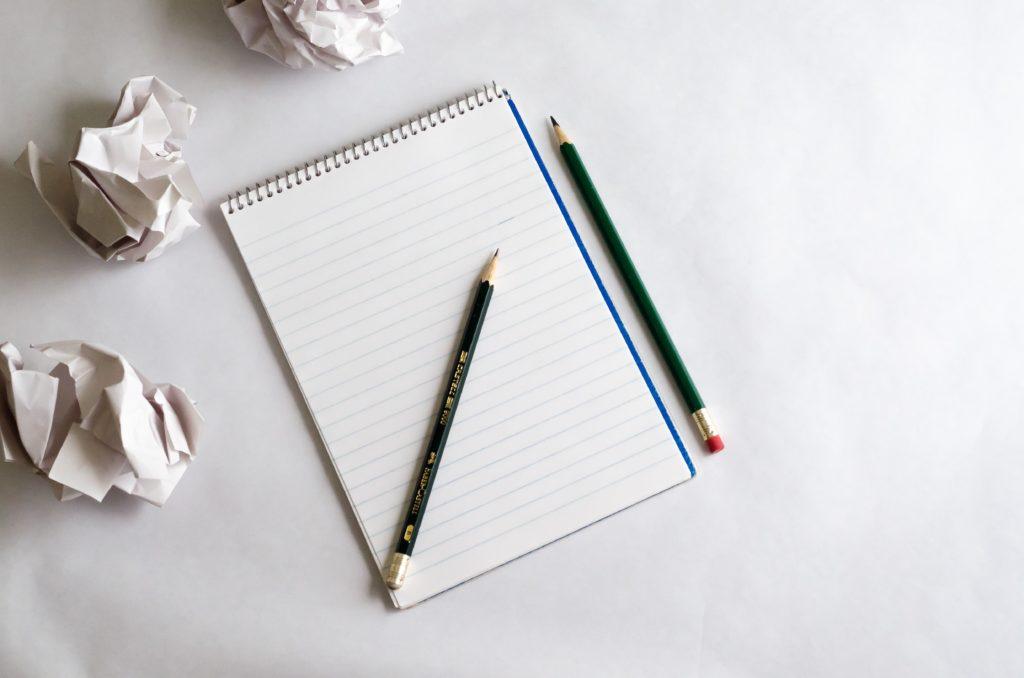pencil notebook ideas