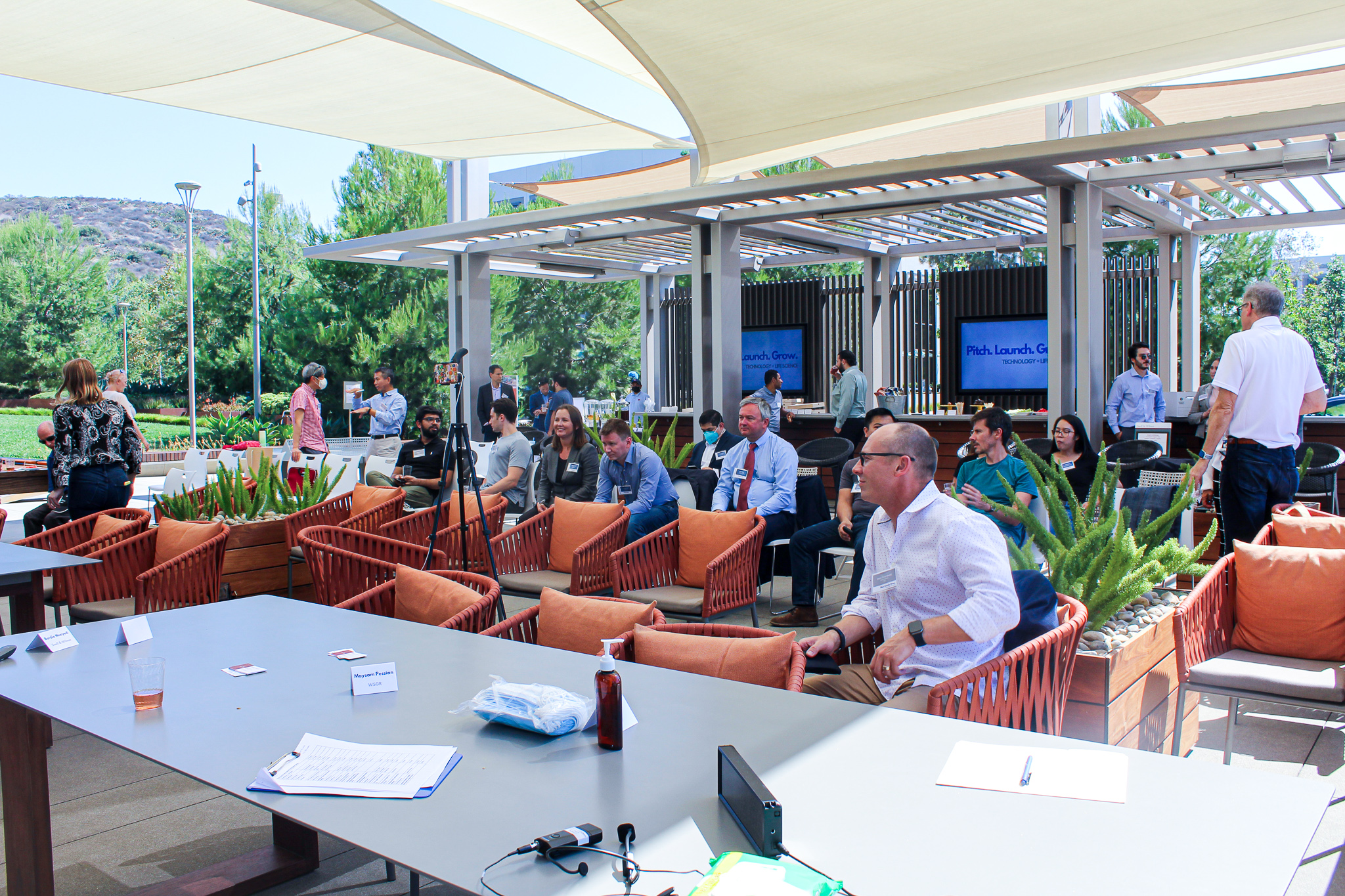 Syntr Health Technologies, Triton Biodevices, and TransSiP win Orange County's Inaugural Pitch Competition, Pitch. Launch. Grow.