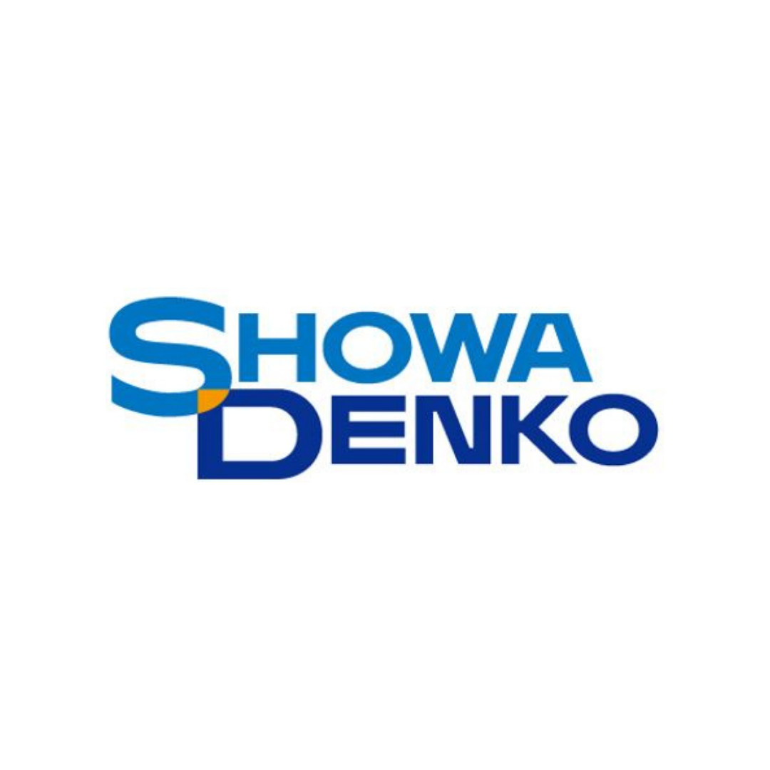 showa denko logo in square